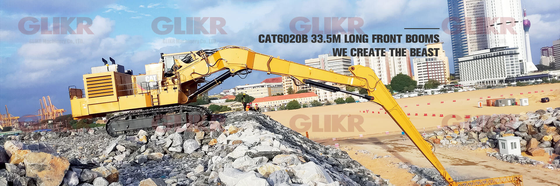 CAT6020B 33.5M LONG FRONT BOOMS - WE CREATE THE BEAST!