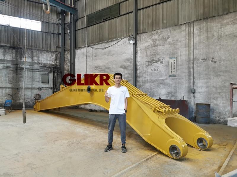 DEC. 3rd, 2020: Caterpillar CAT390FL 20 Meters Long Reach Arm Boom