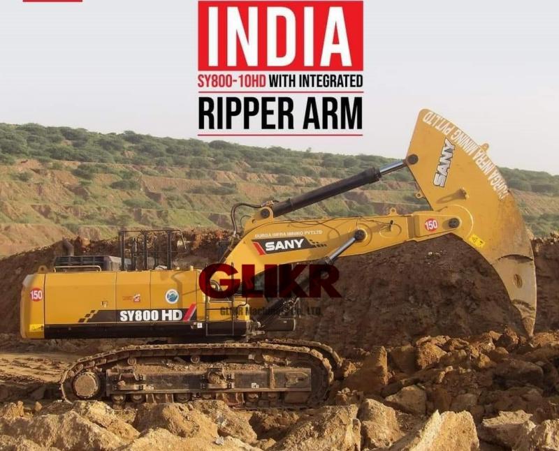 DEC. 8th, 2020: SANY SY800/SY750 Integrated Rock Ripper Arm