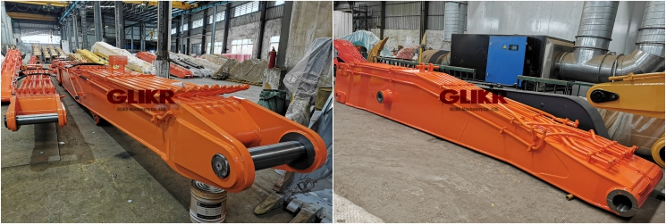 DEC. 27, 2020: Doosan DX500LC-9C Demolition High Reach