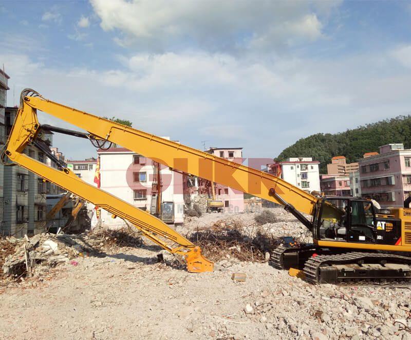 High Reach Demolition Boom