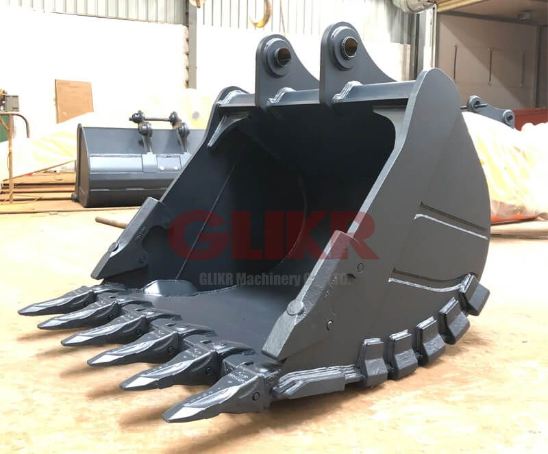 Hitach EX400 Rock Bucket