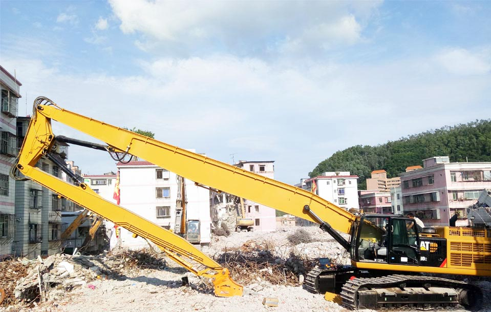 CAT349D2 L-26.5M-High Reach Demoliton Boom