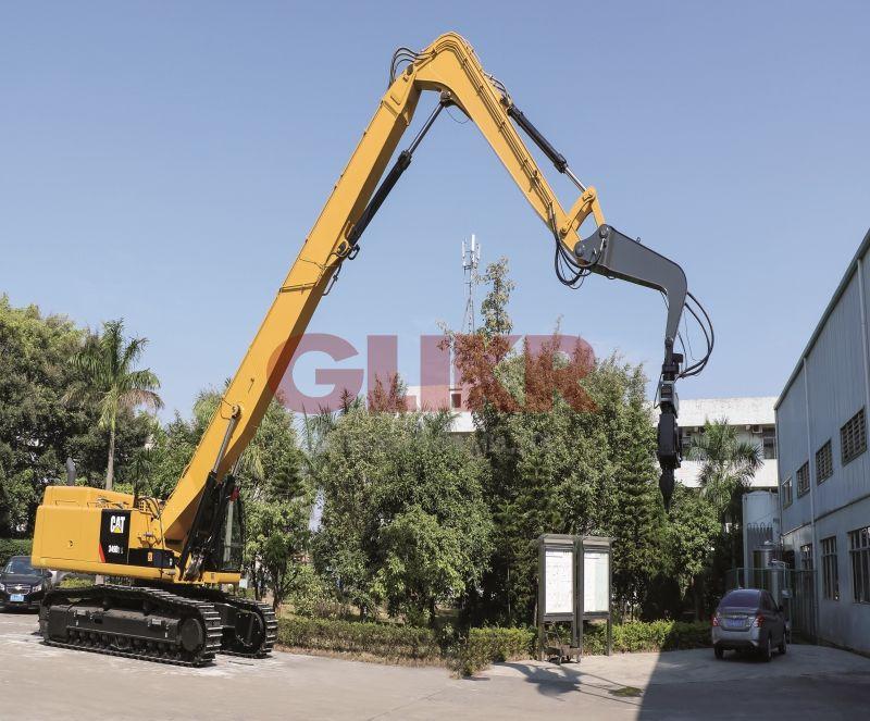 CAT349D2L 16 Meters Sheet Piling Arm