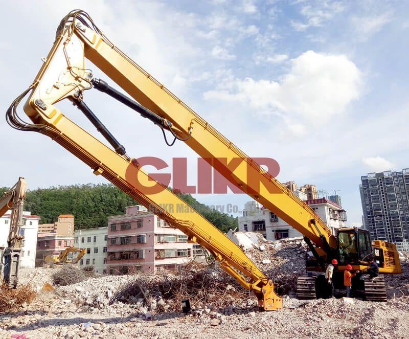 CAT349D2L 26.5 Meters High Reach Demolition Boom