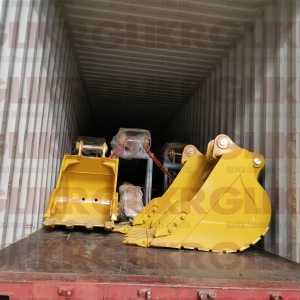 JAN. 6th, 2021: CAT320D2L 13.5M Long Arm, CAT325CL 15M Long Arm Shipped to Africa