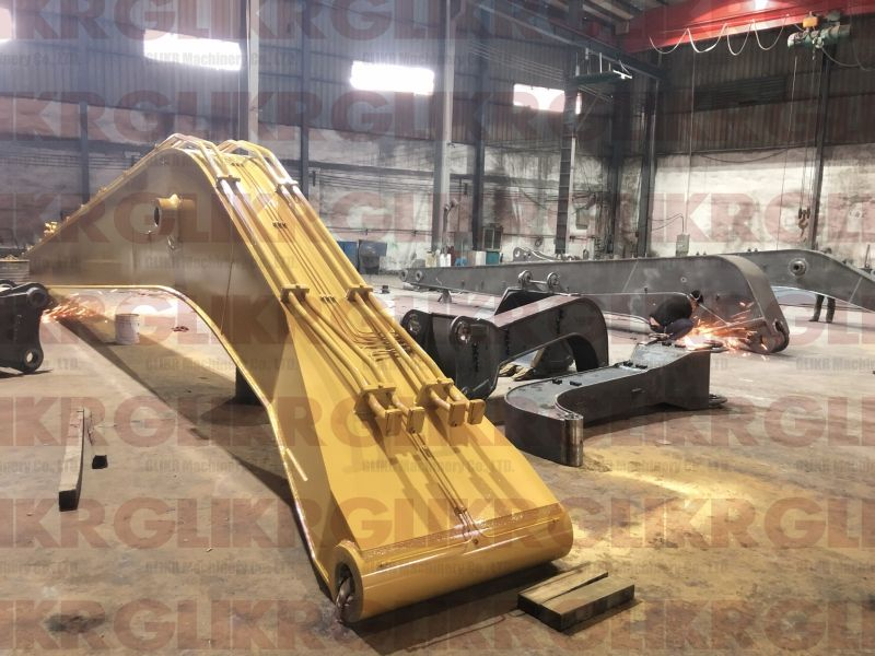 CAT374 23 Meters Long Reach Arm and Boom