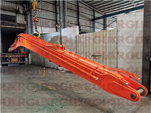 JAN. 24th, 2021: Container Loading for 3 sets of long reach arm and boom-DX225-ZX210-EC350