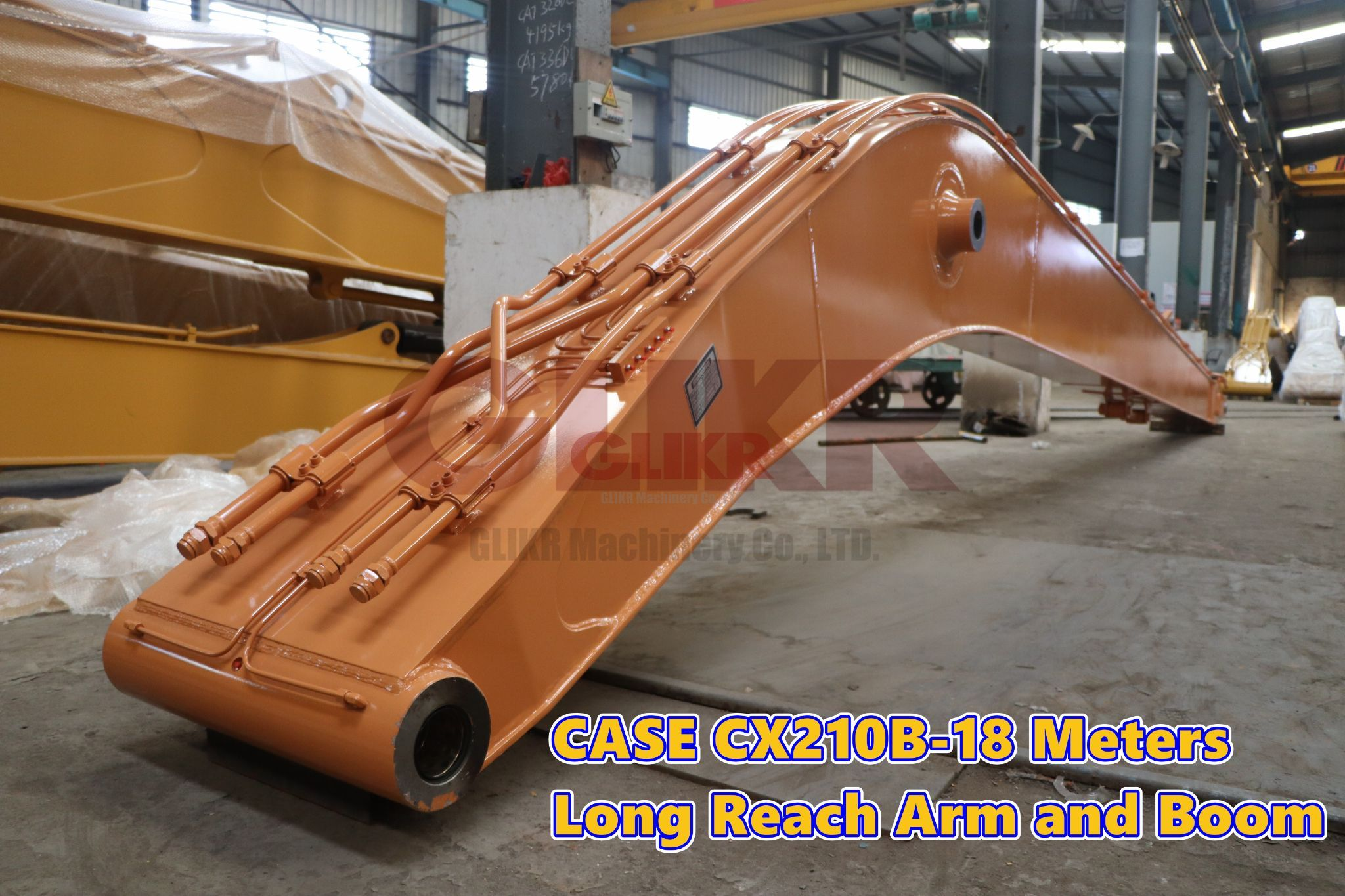 CASE CX210B 18 Meters Long Reach Arm and Boom